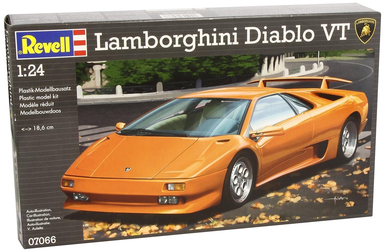 Revell 07066 Lamborghini Diablo VT Model Kit: Amazon.co.uk: Toys U0026 Games
