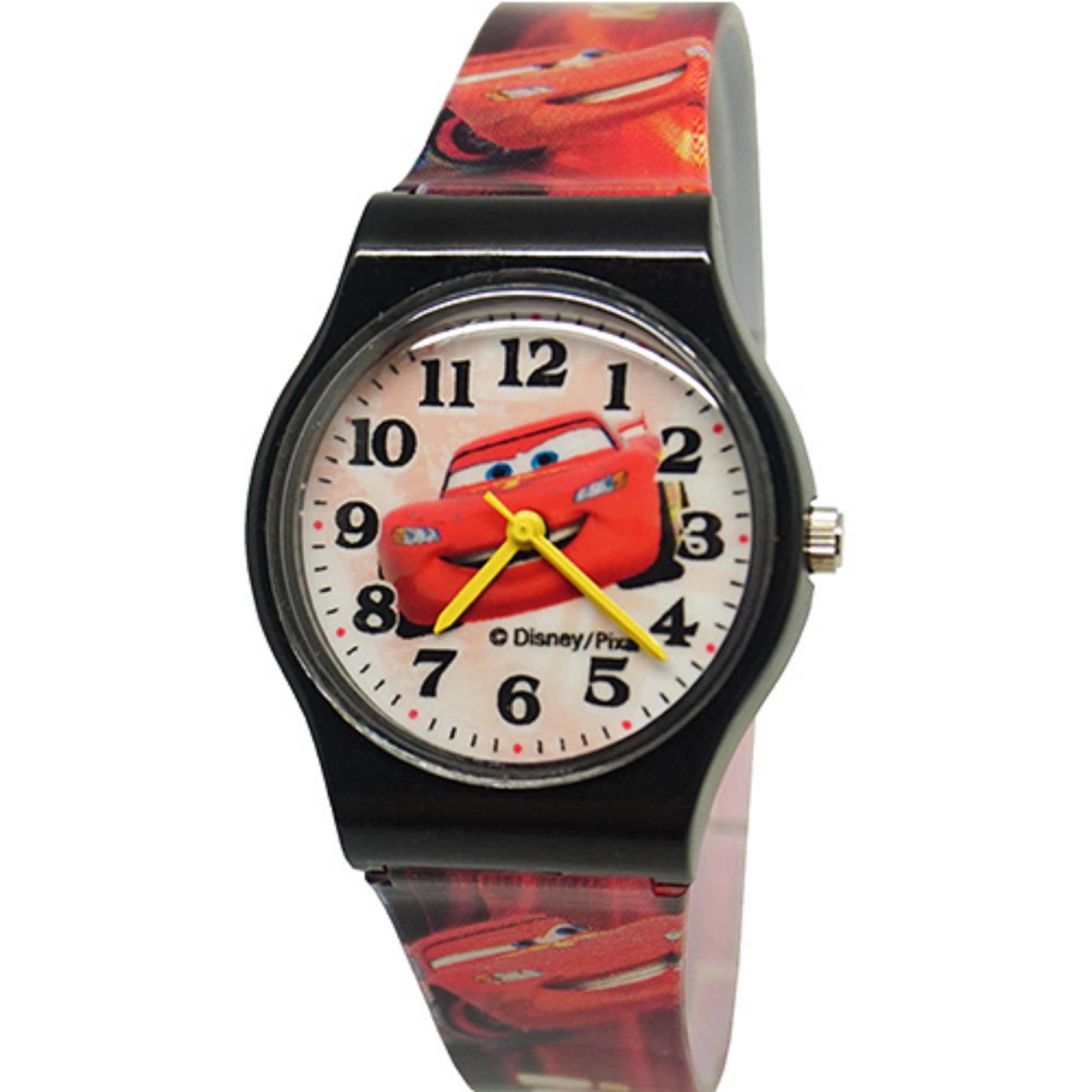 Disney Cars Watch For Kids .Large Analog Dial. 9'' L Band.
