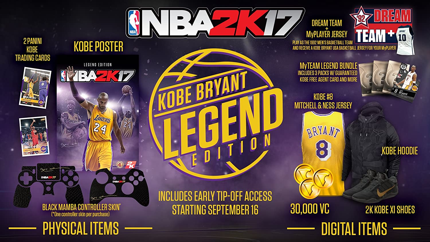 Amazon com: NBA 2K17 - Legend Edition - PlayStation 4: Video