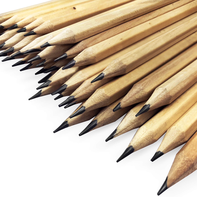OMG Natural Wood Varnished Office Pencils - HB - Jot Lot Clearance of 288 Pencils