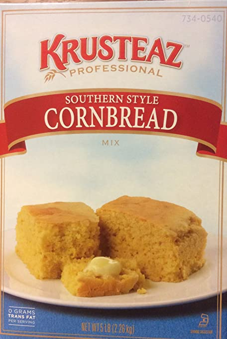 Amazon.com : Krusteaz Old Fashioned SOUTHERN STYLE CORNBREAD Mix 5lbs. Restaurant Quality : Grocery & Gourmet Food