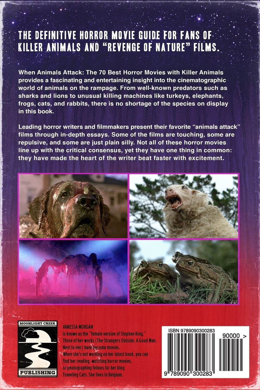 when animals attack the 70 best horror movies killer animals when animals attack the 70 best horror movies killer animals co uk vanessa morgan 9789090300283 books