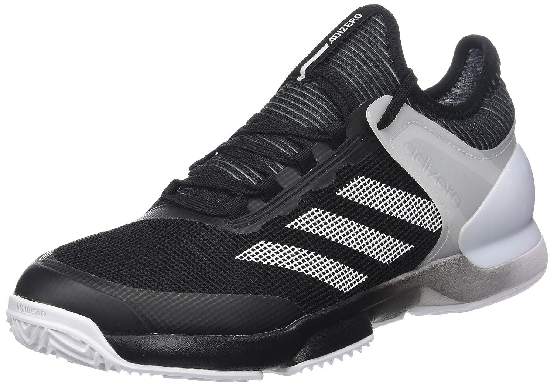 Adidas Adizero Ubersonic 2 Clay, Zapatillas de Tenis para Hombre 42 2/3 EU|Negro (Negbas / Ftwbla 000)