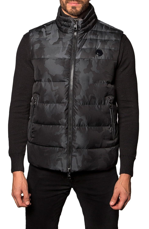[ヤレドラング] メンズ ジャケットブルゾン Jared Lang Camo Down Puffer Vest [並行輸入品] B07C39T9XH Small
