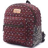 SIGNA BAGS Women's Denim Backpack (Black)