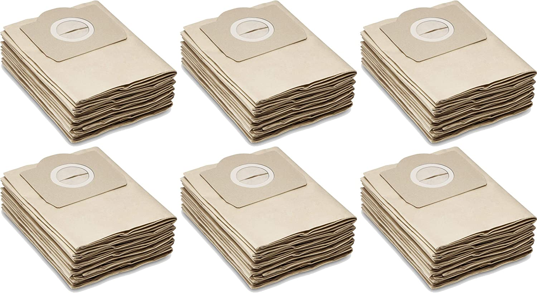 30 Bolsas de papel para aspiradoras Kärcher seco/húmedo: A2204, a2054, WD3, MV3, se4100 – Quality Tested by One.... en Alemania.: Amazon.es: Hogar