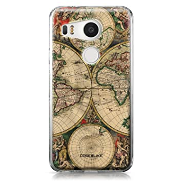 CASEiLIKE Funda Nexus 5X, Carcasa LG Google Nexus 5X, Mapa ...