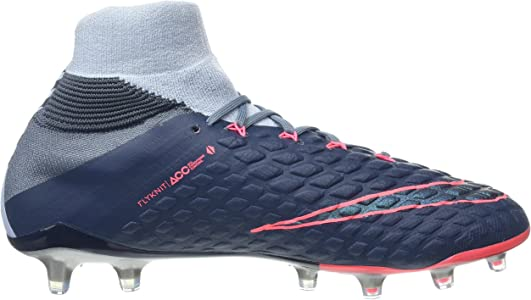 timeless design 3f36b adb9f Mens Hypervenom Phantom II DF FG Soccer Cleat (SZ. 10.5) Light Armory Blue