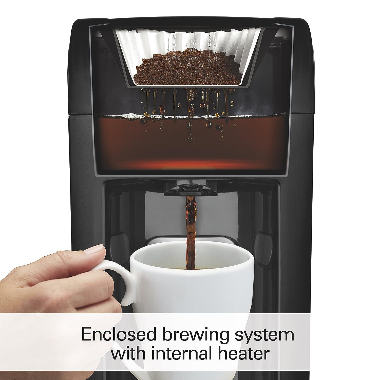 Amazon.com: Hamilton Beach 6-Cup Coffee Maker, Programmable Brewstation  Dispensing Coffee Machine (48274): Drip Coffeemakers: Kitchen & Dining