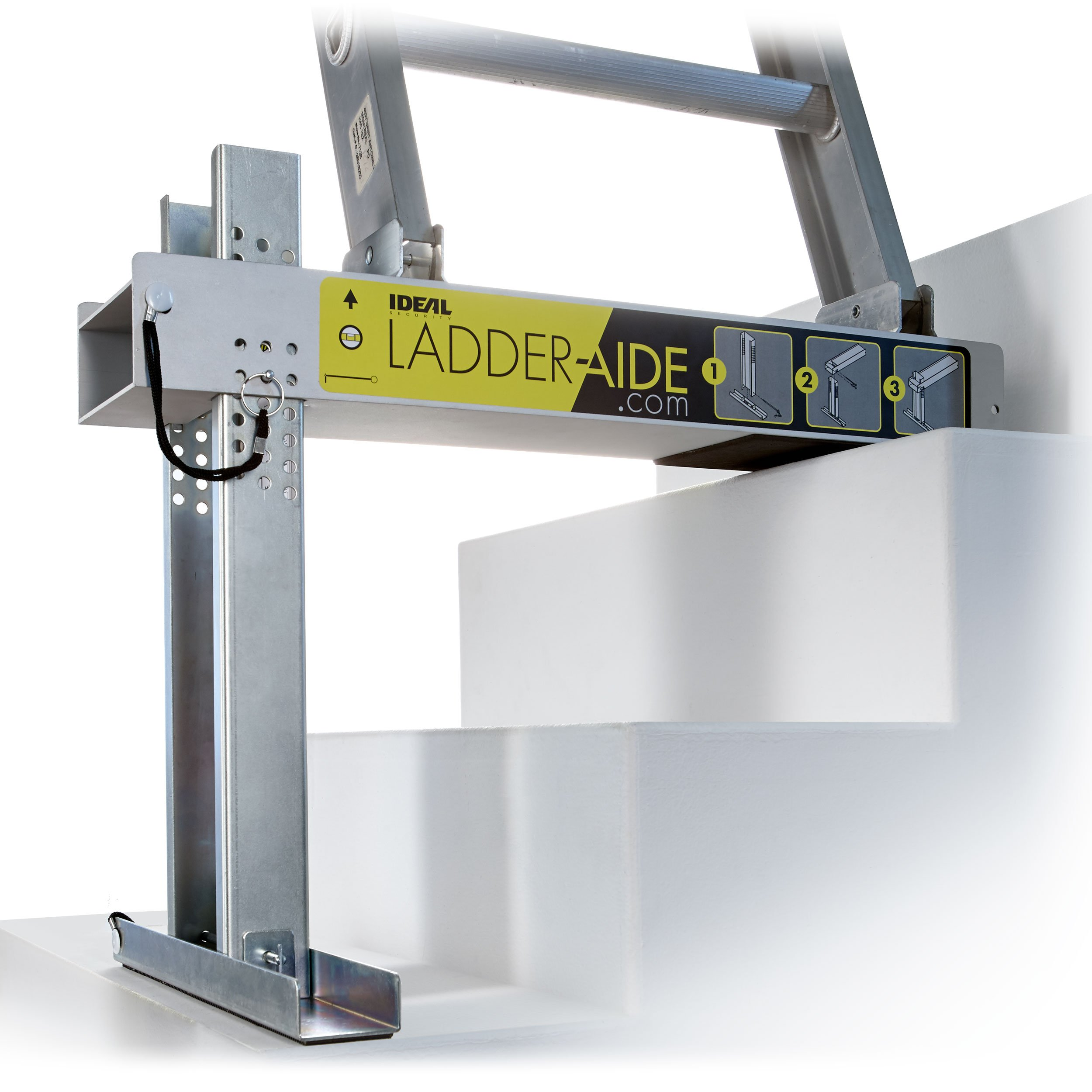 Portable Staircase Ladder Platform Base For Extension Accessories Stand  Paint