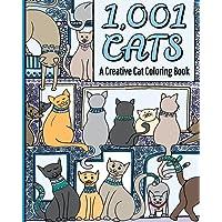 1,001 Cats: A Creative Cat Coloring Book