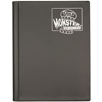Monster Binder - 4 Pocket Matte Black Album - Holds 160 ...