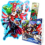 Marvel Avengers Giant Floor Puzzle for Kids (3 Foot Puzzle, 46 Pieces-- Bonus Marvel Heroes Stickers)