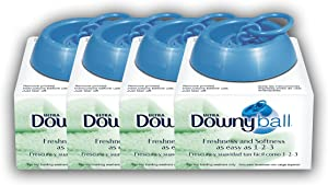 Downy Ball Automatic Dosing Dispenser (Pack of 4)