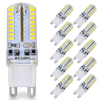 Youke De Avec Éclairage Ampoules Led G9 10 Variateur Lot Compatibles bY7yf6g
