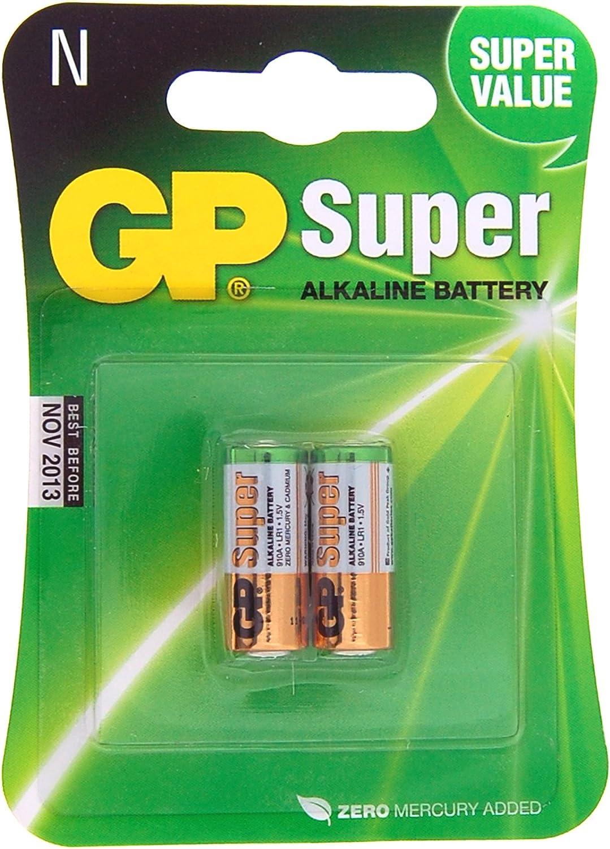 Pack Of 2 Alkaline LR1 1.5-Volt N-Size Photo /& Electronic Batteries
