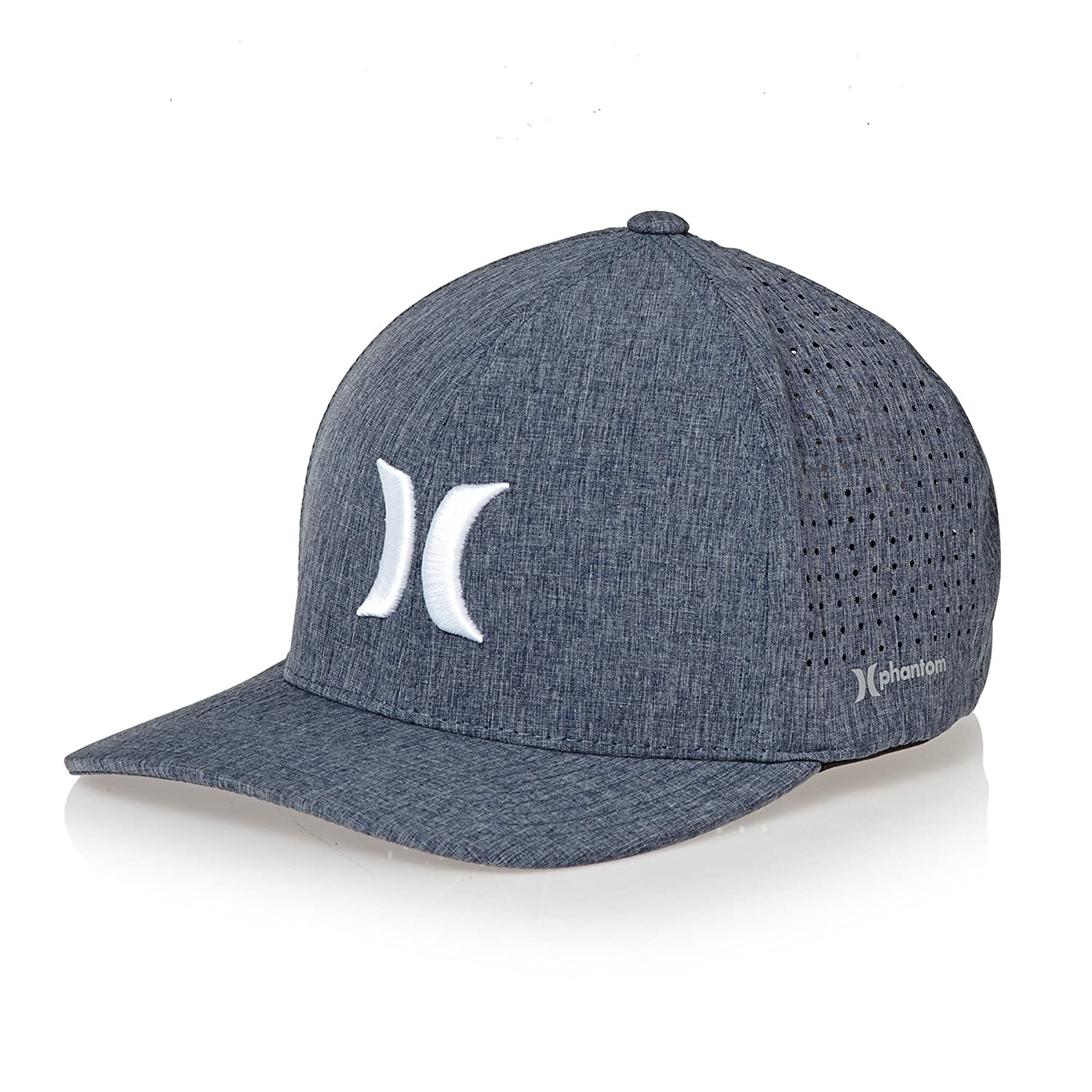 fe62f2289478a Hurley Hats Phantom 4.0 Baseball Cap - Heather Grey  Amazon.co.uk  Clothing