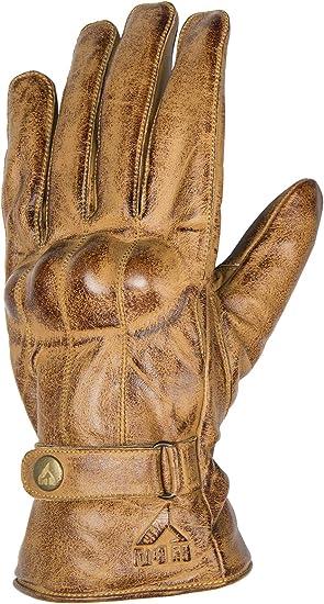 guantes de moto de piel