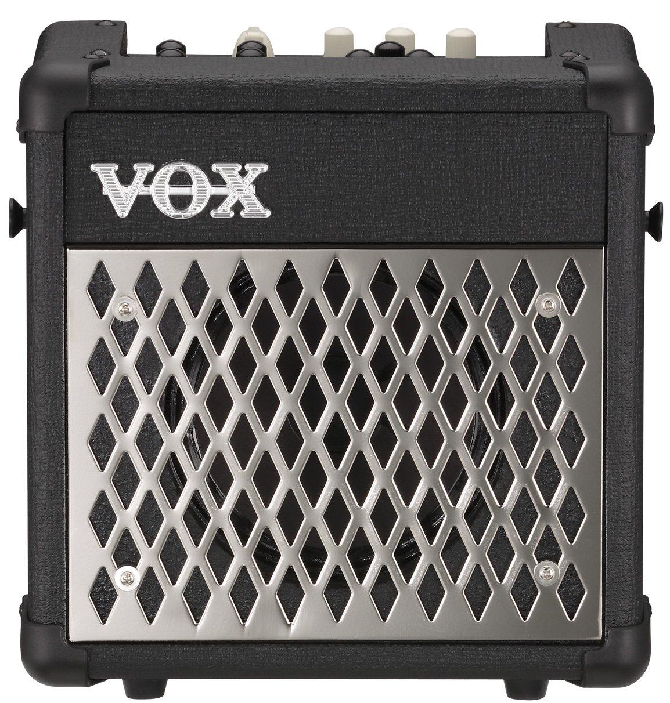 Vox MINI5R Battery Powered Amplifier with Rhythm, 5W, 1 x 6.5'', Black