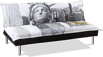 Canape Clic Clac Design New York Amazon Fr Cuisine Maison