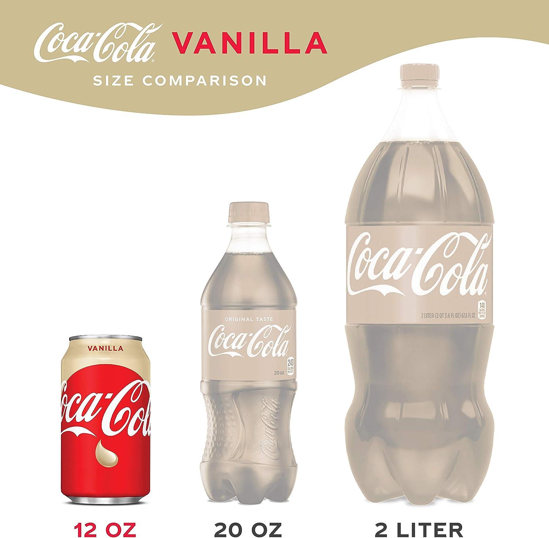 Coca Cola Refresco con gas, Sabor Vainilla - Paquete de 12 x 355 ml - Total: 4260 ml: Amazon.es: Alimentación y bebidas