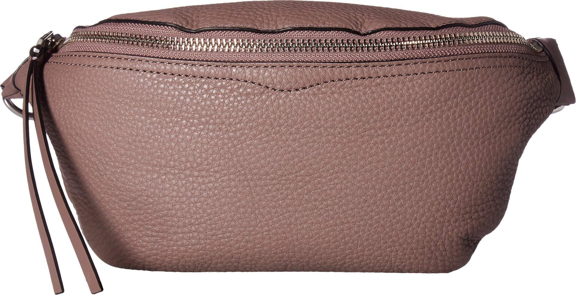Rebecca Minkoff Women's Bree Belt Bag, Mink, Grey, One Size