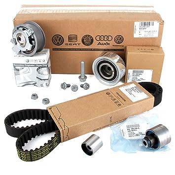 Recambios Originales VOLKSWAGEN Kit Distribución (Juego de correas dentadas 160x25mm) para motores 1.6TDi, 2.0TDi: Amazon.es: Coche y moto