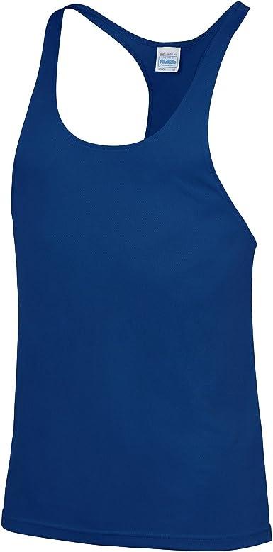 AWDis Just Cool Mens Plain Muscle Sports//Gym Vest Top