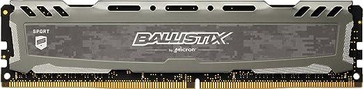 170 opinioni per Ballistix Sport LT 16 GB, DDR4, 2400 MT/s, (PC4-19200) Dual Rank DIMM, 288-Pin,