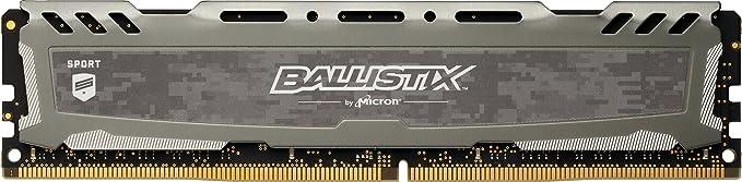 150 opinioni per Ballistix Sport LT BLS8G4D240FSB Memoria da 8 GB, DDR4, 2400 MT/s, PC4-19200, DR