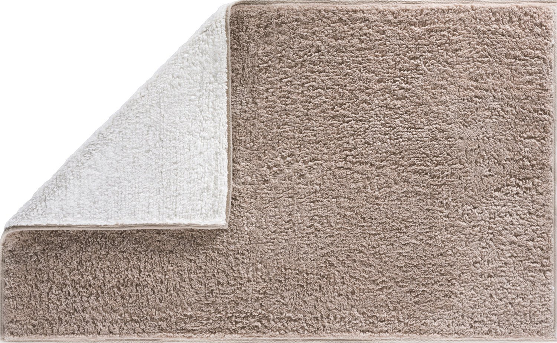 Grund Badteppich 100% Polyacryl, ultra soft, soft, soft, rutschfest, ÖKO-TEX-zertifiziert, 5 Jahre Garantie, MOON, Badematte 60x100 cm, beige bc8978
