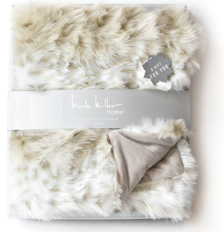 New Luxury 3D soft White Sheep baby blanket 80 x 95cm