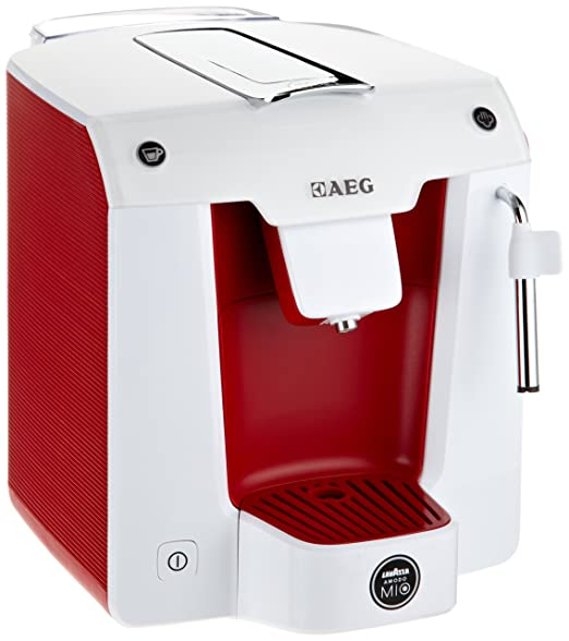 Lavazza A Modo Mio - AEG Favola LM 5100RE - Cafetera de monodosis ...