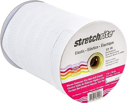 "1 yd 2/"" elastic white flat Elastic for waistbands"