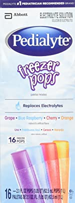 Pedialyte Freezer Pops - Assorted Flavors - 2.1 oz - 16