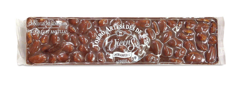 Vicens - Turrón de Chocolate Leche Almendra Especial Alargado, 300 g: Amazon.es: Alimentación y bebidas