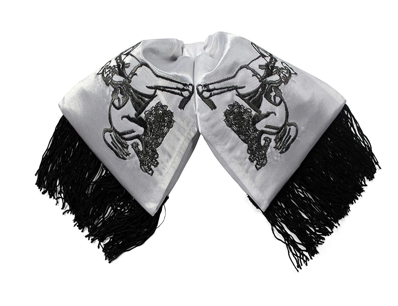 Embroidered Charro Cowboy Bow TIe//Mo/ño