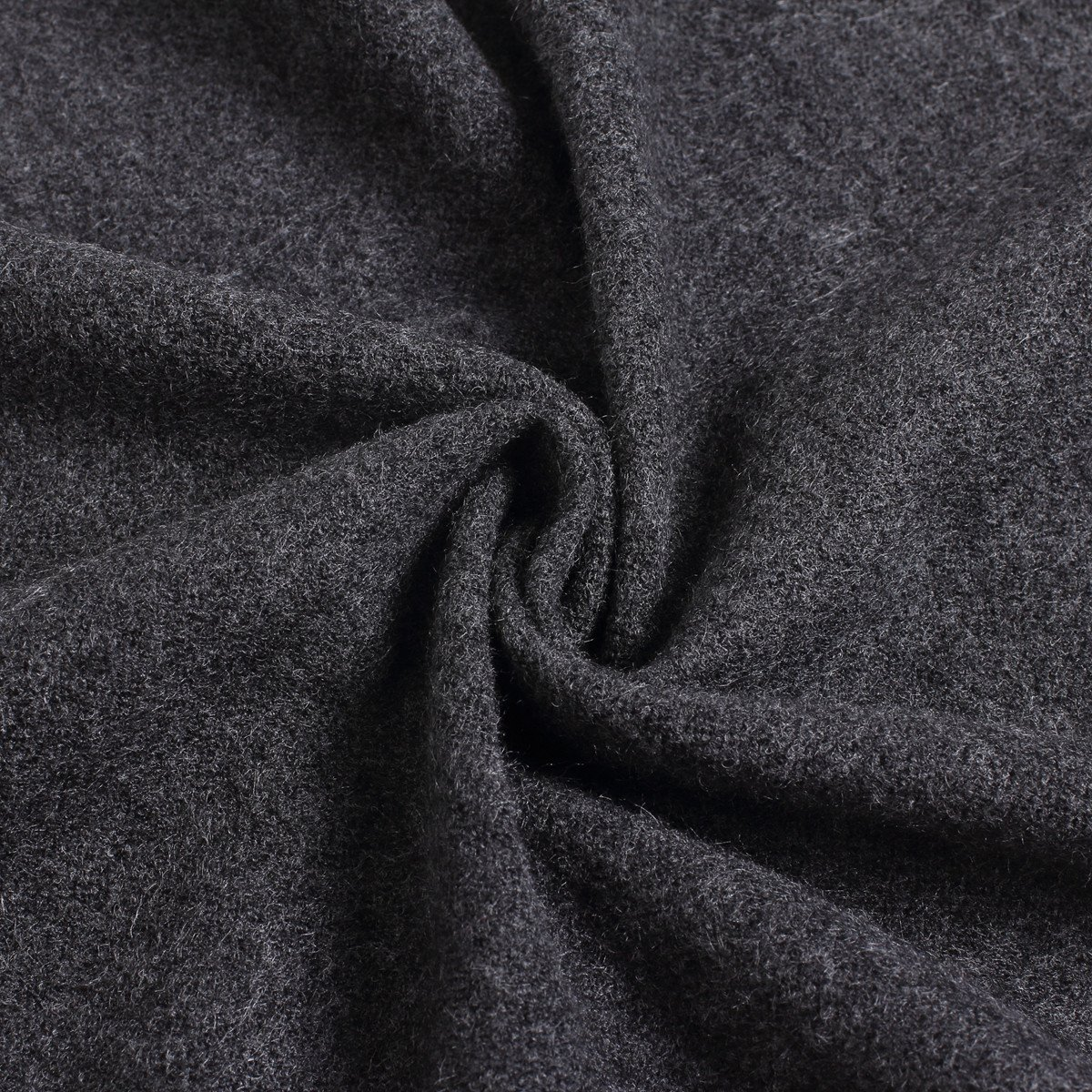 FULLRON Men Winter Scarf Long Cashmere Scarves, Grey Cotton Scarf for Men by FULLRON (Image #7)