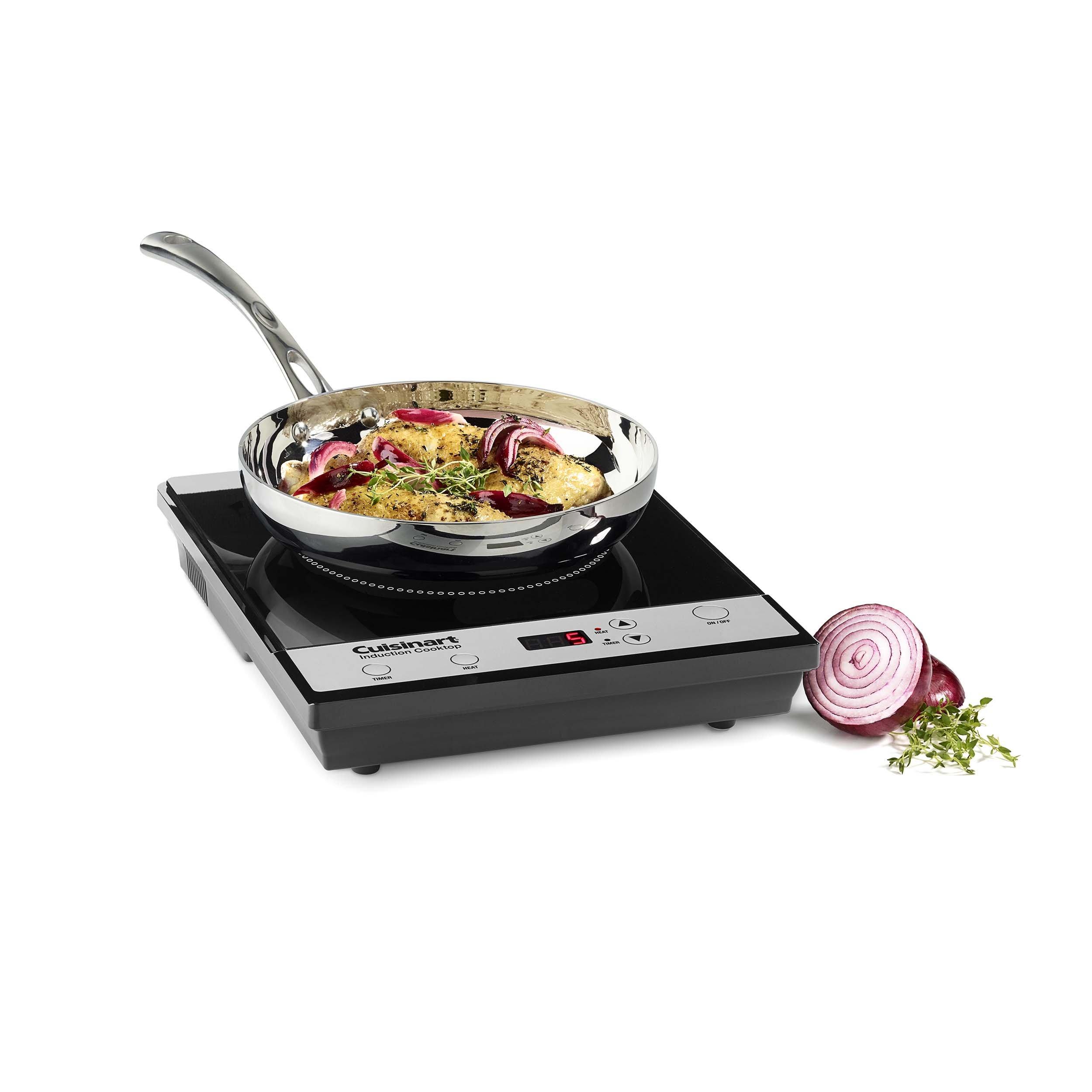 Cuisinart ICT-30 Induction Cooktop, Black