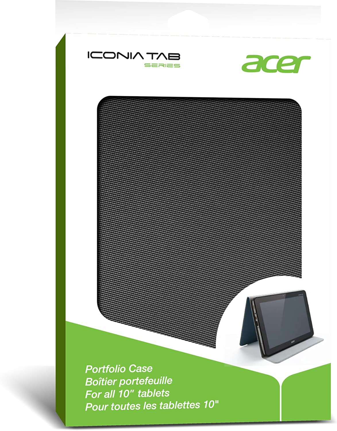Acer Iconia 10-Inch Tablet Foldable Protective Portfolio Case