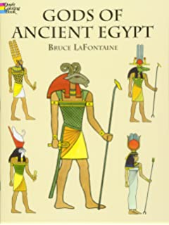 Gods Of Ancient Egypt Dover Classic Stories Coloring Book