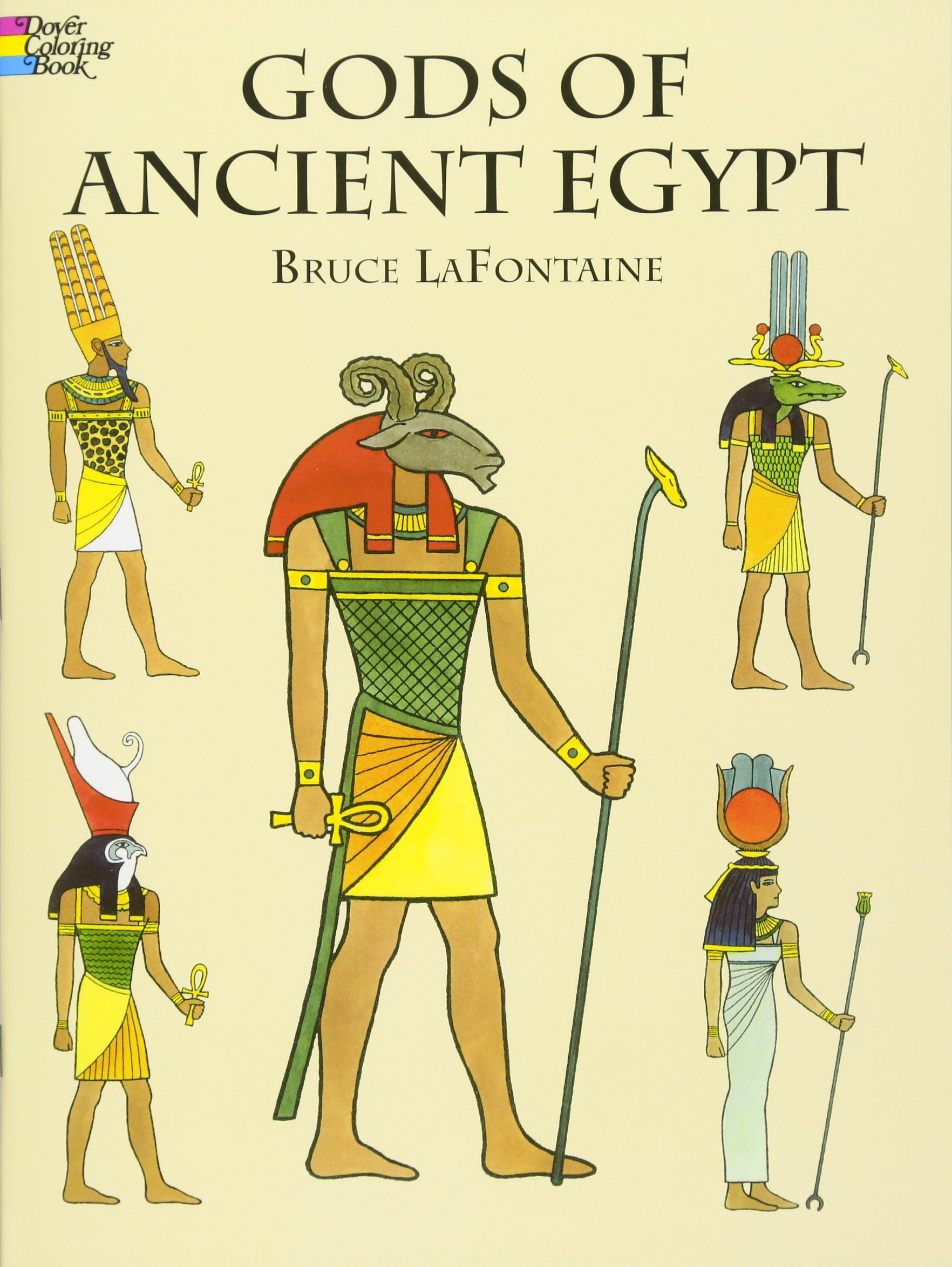 Gods of Ancient Egypt (Dover Classic Stories Coloring Book): Bruce ...