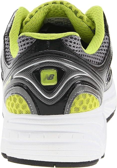 New Balance - Mens 840v2 Cushioning Running Shoes, UK: 12.5 UK - Width 2E,  Black with Grey & Lime Green: Amazon.co.uk: Shoes & Bags