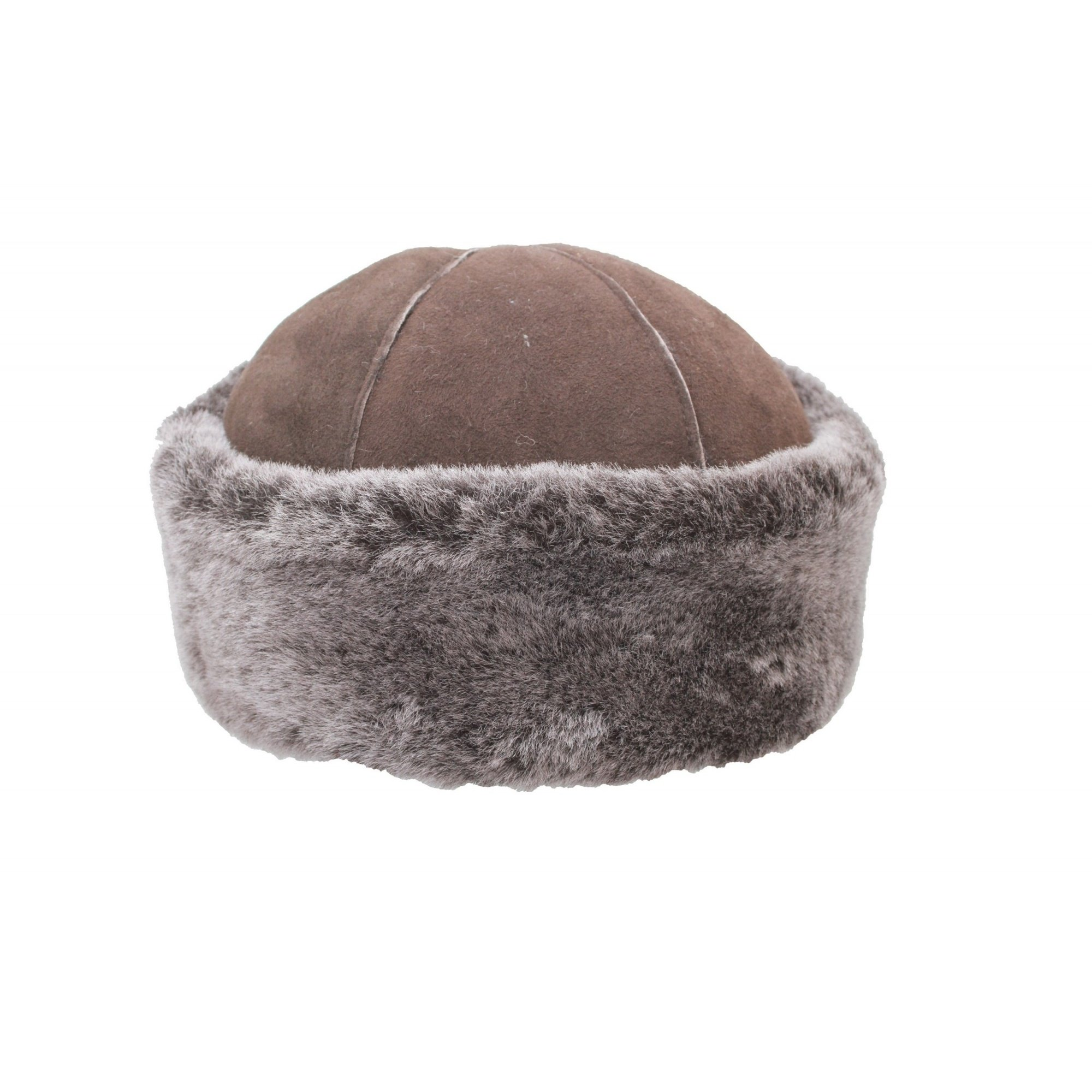 Eastern Counties Leather Womens/Ladies Duxford Dome Panel Sheepskin Hat (L) (Tan)