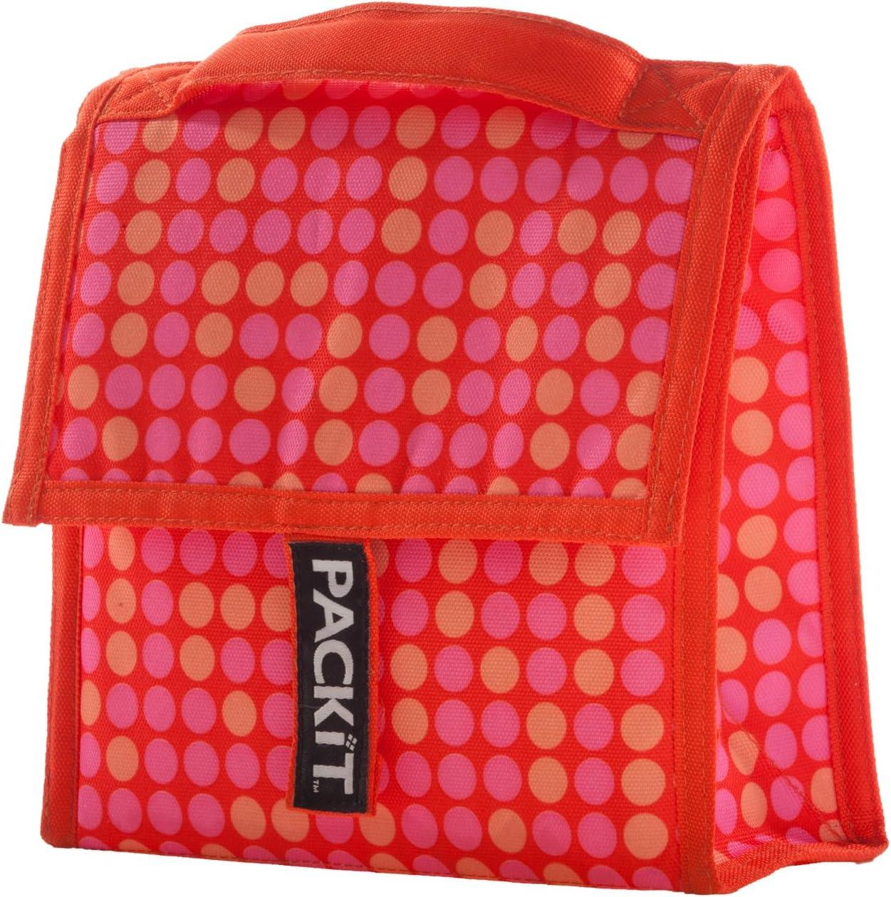 Packit Mini - Bolso nevera, diseño a lunares, color naranja: Amazon.es: Bebé