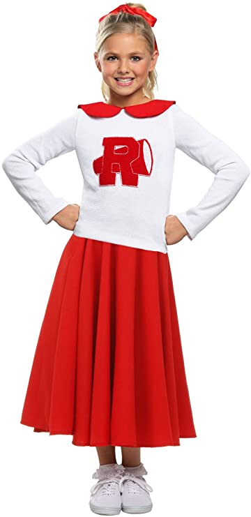 Kids 1950s Clothing & Costumes: Girls, Boys, Toddlers Grease Rydell High Girls Cheerleader Costume $39.98 AT vintagedancer.com