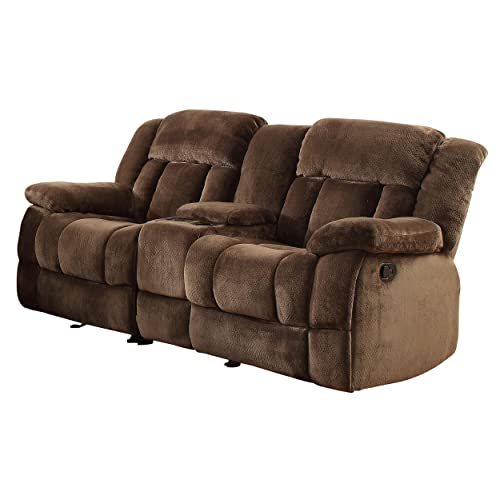 Recliner Loveseat With Console Amazon Com