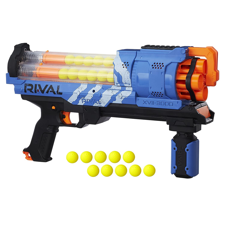 $33.49 (was $46) Nerf Rival Artemis XVII 3000 Blaster, Blue