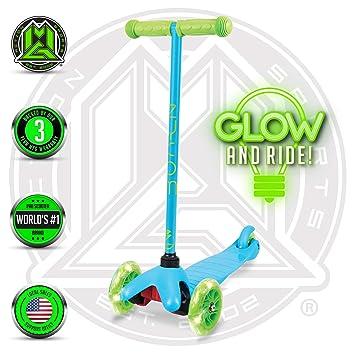 Amazon.com: Zycom – Zipper – Green Blue – 3 Wheel Scooter ...