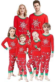 Matching Family Pajamas Christmas Boys and Girls Snowflake Pyjamas 2 Piece  PJs Set a16c945da